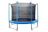 FA Sports Gartentrampolin mit Sicherheitsnetz Flyjump Monster, blau, 305 cm