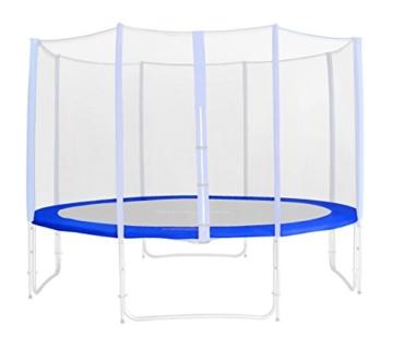 Randabdeckung Blau für Gartentrampolin 1,85 M – 4,60 M – Ersatzteil Federabdeckung PVC – RA-543 – Größe 4,60 m 6L -